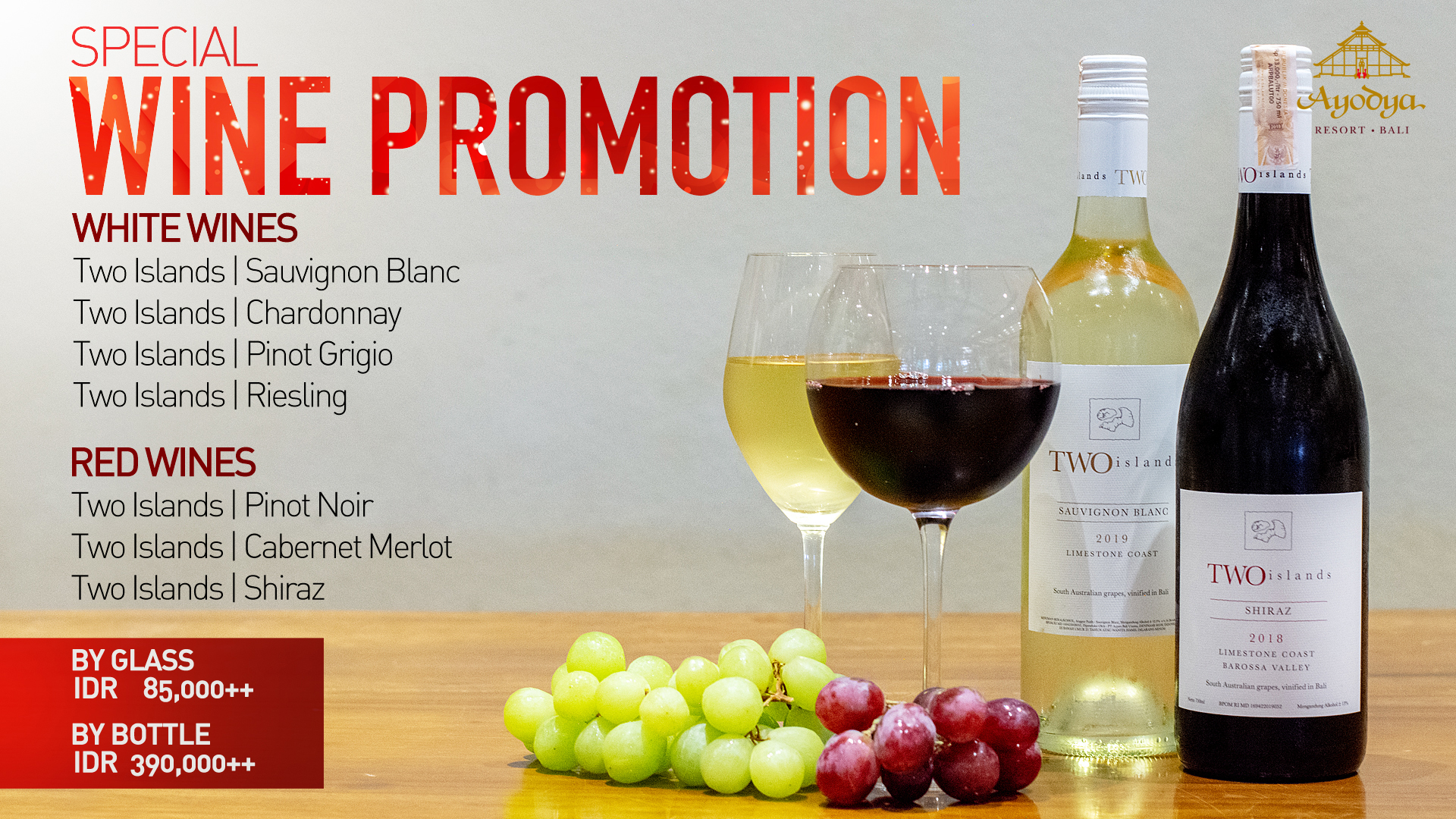 Special Wine Promotion